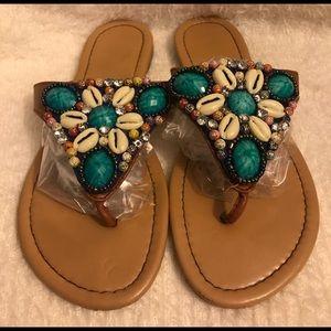 Avon Beaded Sandals